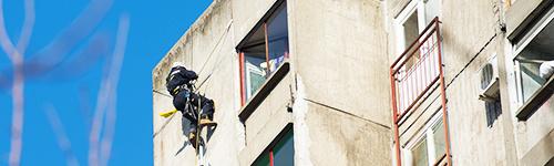 Usluge visinski radovi - izrada fasade