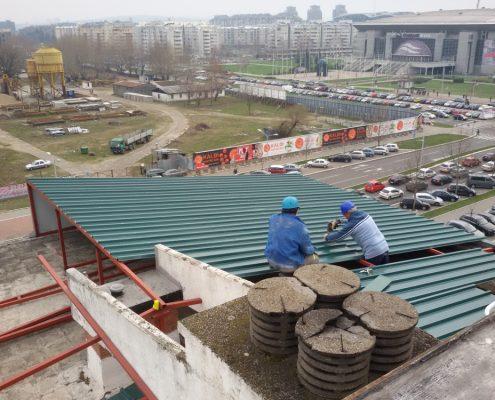 Izrada limenih krovova