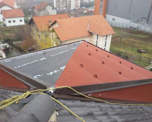 Pokrivanje terase