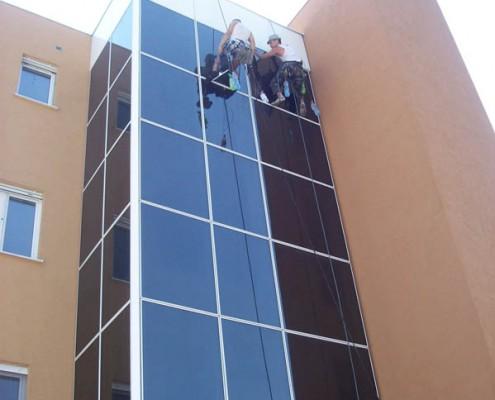 Visinsko pranje prozora