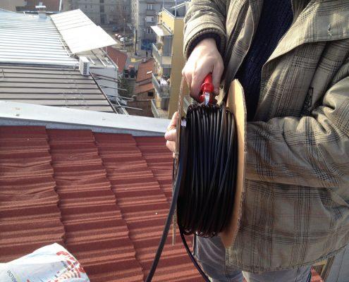 Elektro radovi na visini instalacija grejnih kablova