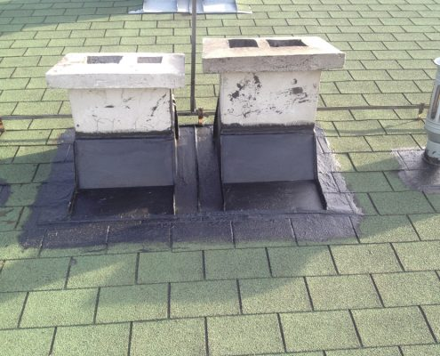 Hidroizolacija kosih krovova i dimnjaka